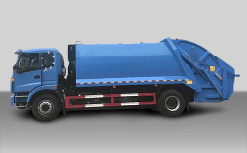 Compressible Garbage Truck (3)